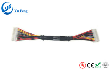 Car heater wire harness
